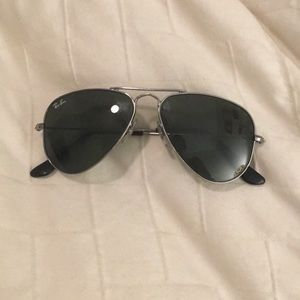 Kids! Ray Ban aviator sunglasses